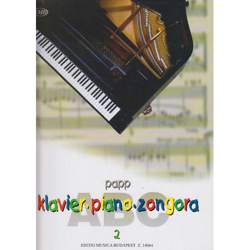 EMB (EDITIO MUSICA BUDAPEST) PAPP LAJOS - PIANO ABC VOL.2