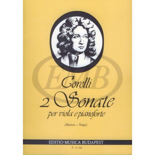 EMB (EDITIO MUSICA BUDAPEST) CORELLI A. - SONATE (2) OP. 5 N. 7 E 8 - ALTO