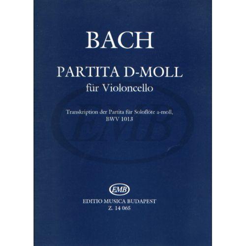 EMB (EDITIO MUSICA BUDAPEST) BACH J.S. - PARTITA IN RE MIN (TRASCRIZIONE DA BWV 1013) - VIOLONCELLE