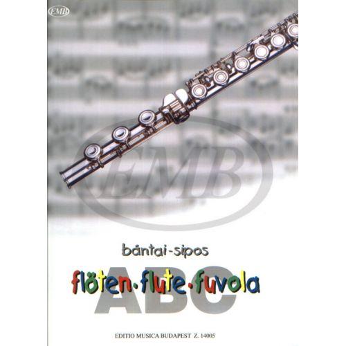 EMB (EDITIO MUSICA BUDAPEST) BANTAI / SIPOS - FLUTE ABC