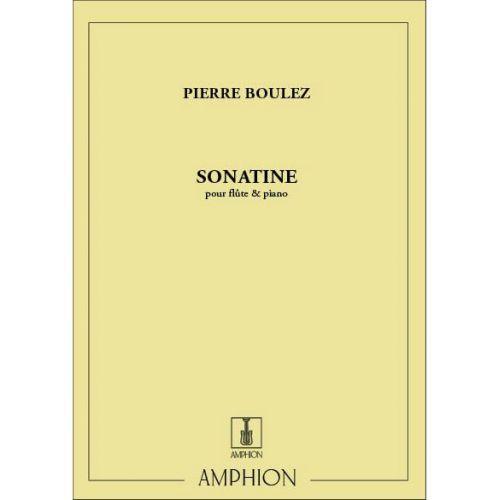 AMPHION EDITIONS BOULEZ P. - SONATINE - FLUTE ET PIANO