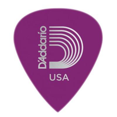 Dunlop Guitar Picks  12 Pack  Celluloid  Purple Pearl  Medium