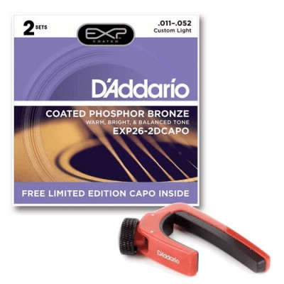 D'ADDARIO AND CO JEUX - 2 JX EXP26 ET RED CAPO