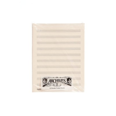 D'ADDARIO AND CO DOUBLE SHEETS OF HANDWRITTEN PAPER ARCHIVES 10 DOORS 24 SHEETS