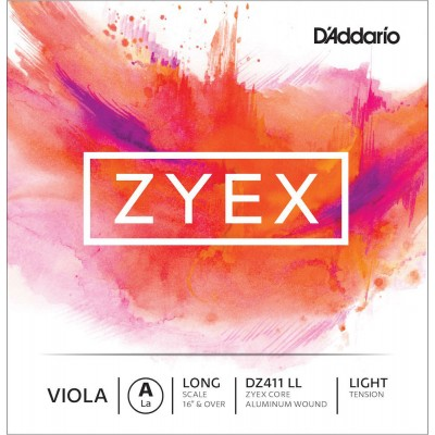 D'ADDARIO AND CO STRING ONLY (A) FOR VIOLA ZYEX