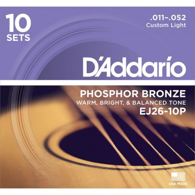 Acoustic string sets 011