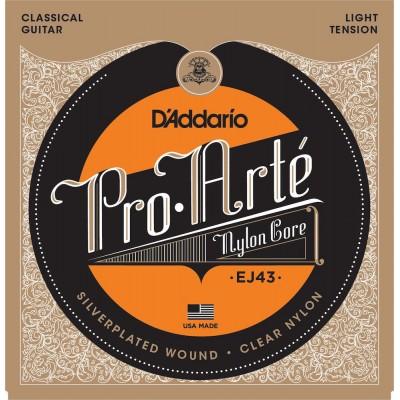 D/'Addario EJ43 Pro-Arte Nylon Classical Guitar Strings Light Tension