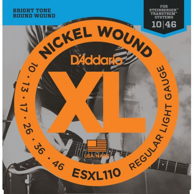D'ADDARIO AND CO ELECTRIC S DOUBLE BALL ESXL 110 - 10-13-17-26-36-46