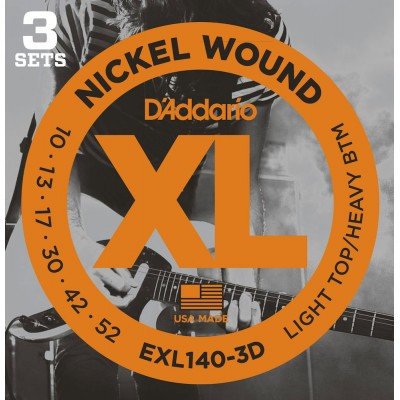 D'ADDARIO AND CO EXL140-3D