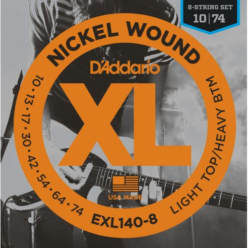 D'ADDARIO AND CO EXL140-8