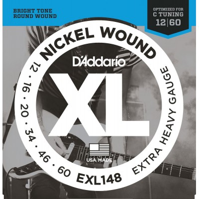 D'ADDARIO AND CO EXL148 EXTRA HEAVY 12-60