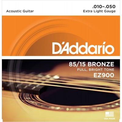 D'ADDARIO AND CO EZ900 AMERICAN BRONZE 85/15 EXTRA LIGHT 10-50