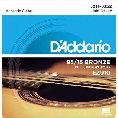 D'ADDARIO AND CO EZ910 AMERICAN BRONZE 85/15 LIGHT 11-52