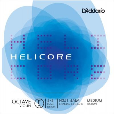 D'ADDARIO AND CO STRING ALONE (E) FOR VIOLIN 4/4 HELICORE OCTAVE TENSION MEDIUM