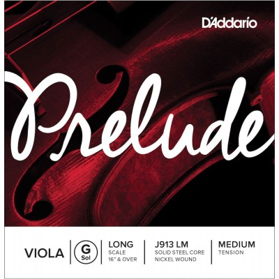 D'ADDARIO AND CO STRING ONLY (G) FOR VIOLA PRELUDE