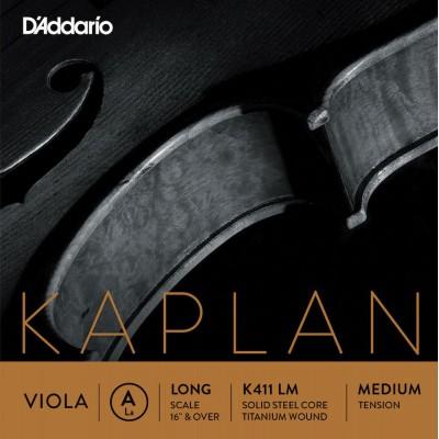 D'ADDARIO AND CO KAPLAN VIOLA SINGLE A STRING LONG SCALE MEDIUM TENSION