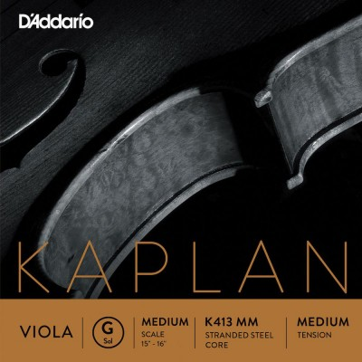 D'ADDARIO AND CO ALTO KAPLAN G CORDE MEDIUM SCALE TENSION