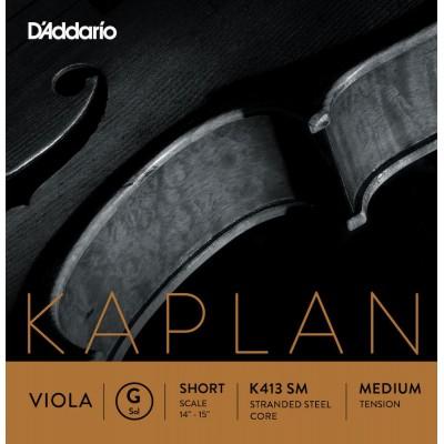 D'ADDARIO AND CO ALTO KAPLAN G CORDE SHORT SCALE TENSION