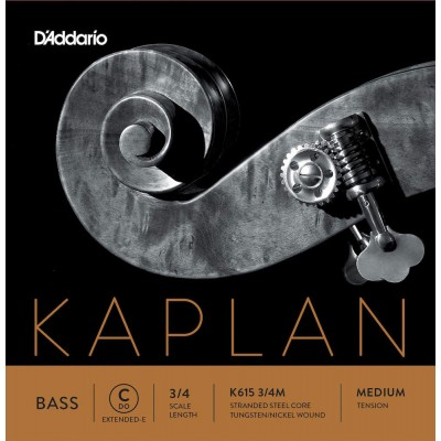 D'ADDARIO AND CO STRING ONLY (C E EXTENDED) FOR DOUBLE BASS KAPLAN HANDLE 3/4 TENSION MEDIUM
