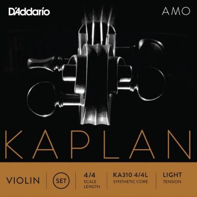 D'ADDARIO AND CO 4/4 KAPLAN AMO SET 4-4 LIGHT
