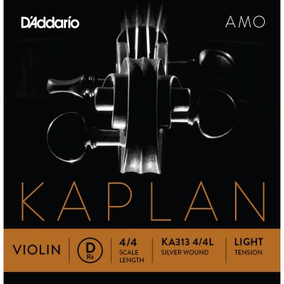 D'ADDARIO AND CO KA313 4/4L RE RE STRING FOR VIOLIN 4/4 LOW VOLTAGE