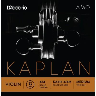 D'ADDARIO AND CO KA314 4/4M FLOOR STRING FOR VIOLIN 4/4 MEDIUM VOLTAGE