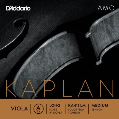 D'ADDARIO AND CO STRING ONLY (A) FOR VIOLA KAPLAN AMO LONG TUNING FORK MEDIUM