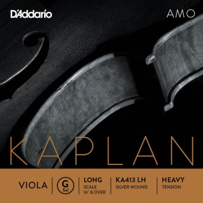 D'ADDARIO AND CO STRING ONLY (GROUND) FOR VIOLA KAPLAN AMO LONG TUNING FORK HEAVY TENSION