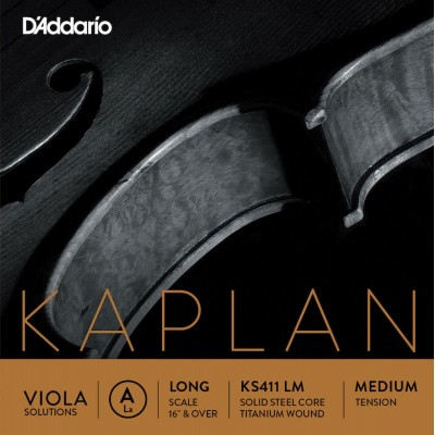 D'ADDARIO AND CO STRING ONLY (A) FOR VIOLA KAPLAN SOLUTIONS