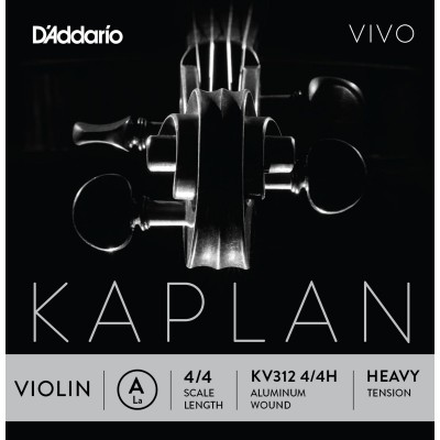 D'ADDARIO AND CO KV312 4/4H E STRING FOR VIOLIN 4/4 HEAVY