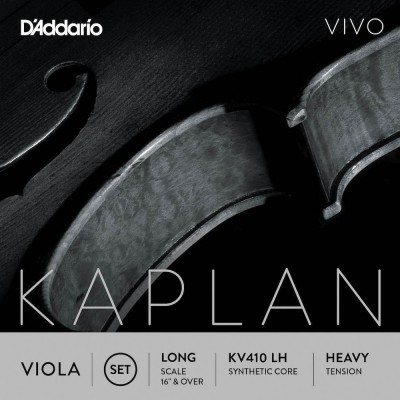 D'ADDARIO AND CO STRING SET FOR KAPLAN VIVO VIOLA VIVO LONG TUNING FORK HEAVY TENSION