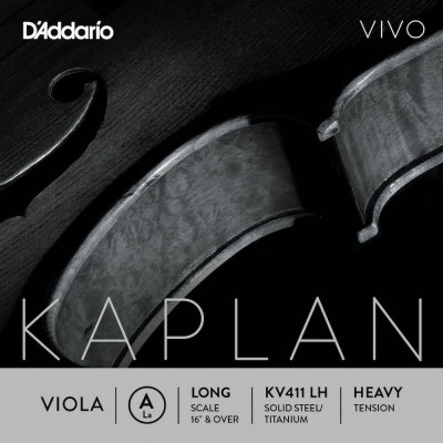 D'ADDARIO AND CO STRING ONLY (A) FOR VIOLA KAPLAN VIVO VIVO LONG TUNING FORK HEAVY TENSION