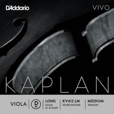 D'ADDARIO AND CO STRING ONLY (RE) FOR VIOLA KAPLAN VIVO VIVO LONG TUNING FORK MEDIUM