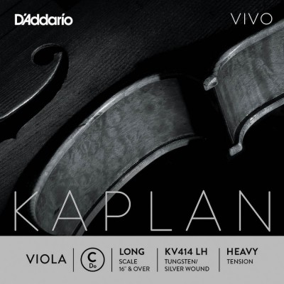 D'ADDARIO AND CO STRING ONLY (C) FOR VIOLA KAPLAN VIVO VIVO LONG TUNING FORK HEAVY TENSION