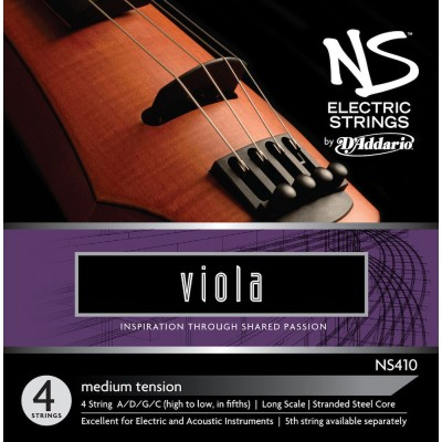 D'ADDARIO AND CO SET OF STRINGS FOR VIOLA NS ELECTRIC