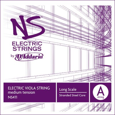 D'ADDARIO AND CO STRING ONLY (A) FOR VIOLA NS ELECTRIC
