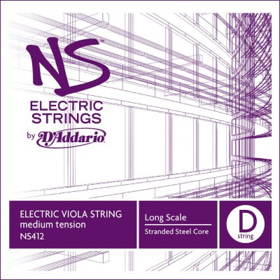 D'ADDARIO AND CO STRING ONLY (RE) FOR VIOLA NS ELECTRIC
