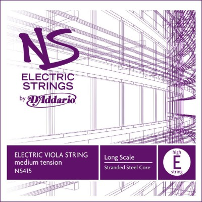 D'ADDARIO AND CO STRING ONLY (E BASS) FOR VIOLA NS ELECTRIC