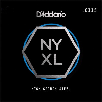 D'ADDARIO AND CO STRING ONLY FOR GUITAR NYS0115 PURE STEEL .0115