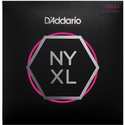 D'ADDARIO AND CO NYXL 09-42 NEW YORK XL EXTRA LIGHT