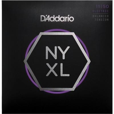 D'ADDARIO AND CO CORDES POUR GUITARE ELECTRIQUE NYXL1150BT FILET NICKEL BALANCED TENSION MEDIUM 11-50