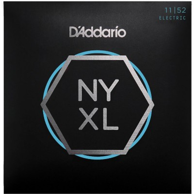 D'ADDARIO AND CO CORDES POUR GUITARE ELECTRIQUE NYXL1152 FILET NICKEL AIGUËS MEDIUM / GRAVES HEAVY 11-52