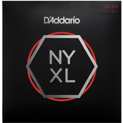 D'ADDARIO AND CO STRINGS FOR ELECTRIC GUITAR NYXL1254 NICKEL NET HEAVY 12-54