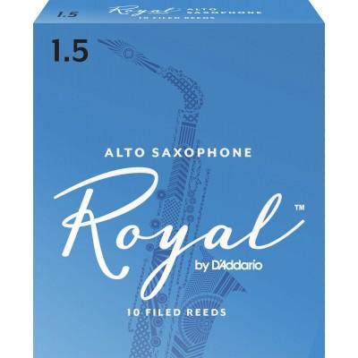 D'ADDARIO - RICO ROYAL ALT-SAXOPHONBLÄTTER STÄRKE 15 10ER-PACKUNG