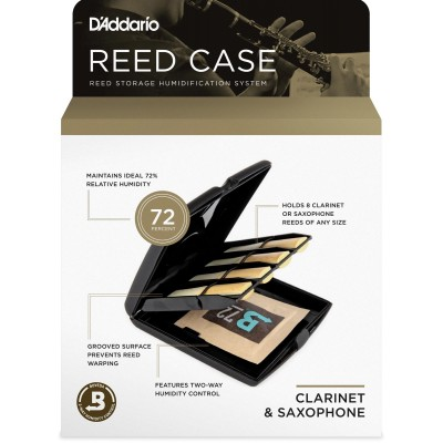 D'ADDARIO - RICO REED CASE ANCHES CLARINETTE ET SAXOPHONE
