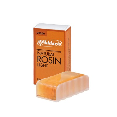 D'ADDARIO AND CO NATURAL ROSIN RESIN BY D'ADDARIO, CLEAR