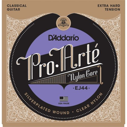 D'ADDARIO AND CO EJ 44 PRO ARTE SEHR HARTE SPANNUNG