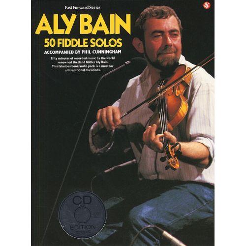 AMSCO ALY BAIN 50 FIDDLE SOLOS + CD - VIOLIN