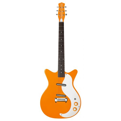 DANELECTRO 59 MODIFIED NEW OLD STOCK ORANGE