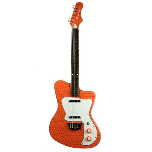 DANELECTRO 67 HEAVEN ALLIGATOR ORANGE